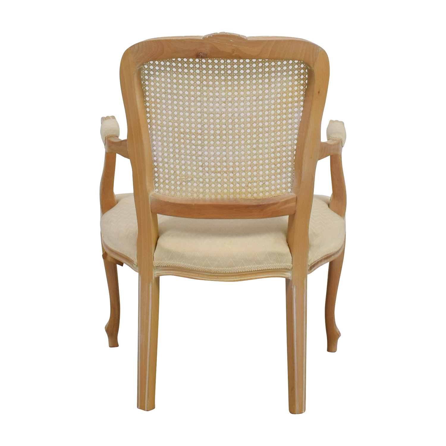Link-Taylor Link-Taylor French Provincial Creme Chair Accent Chairs
