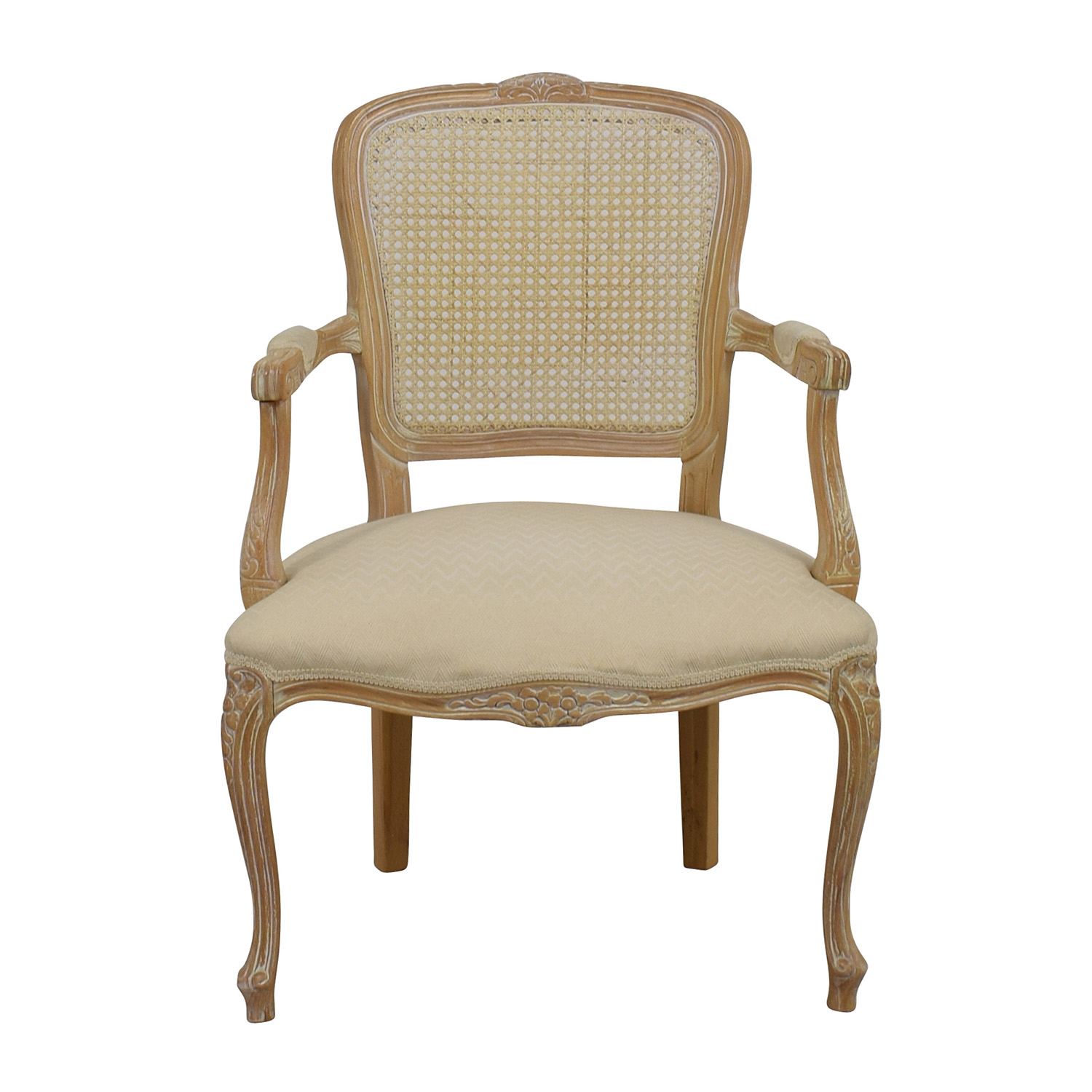 Link-Taylor French Provincial Creme Chair sale