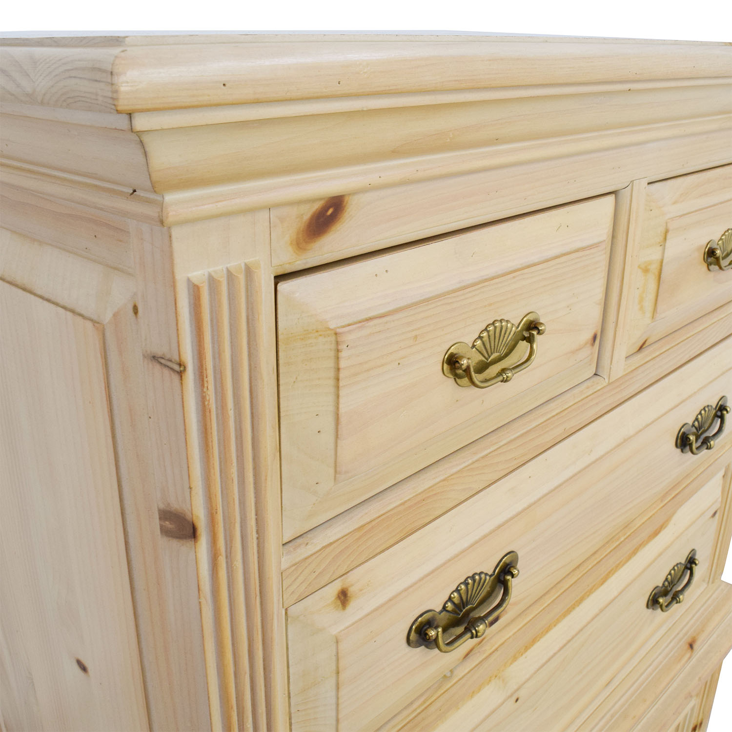 ... Link Taylor Link Taylor Raw Wood Tiered Six Drawer Dresser On Sale ...