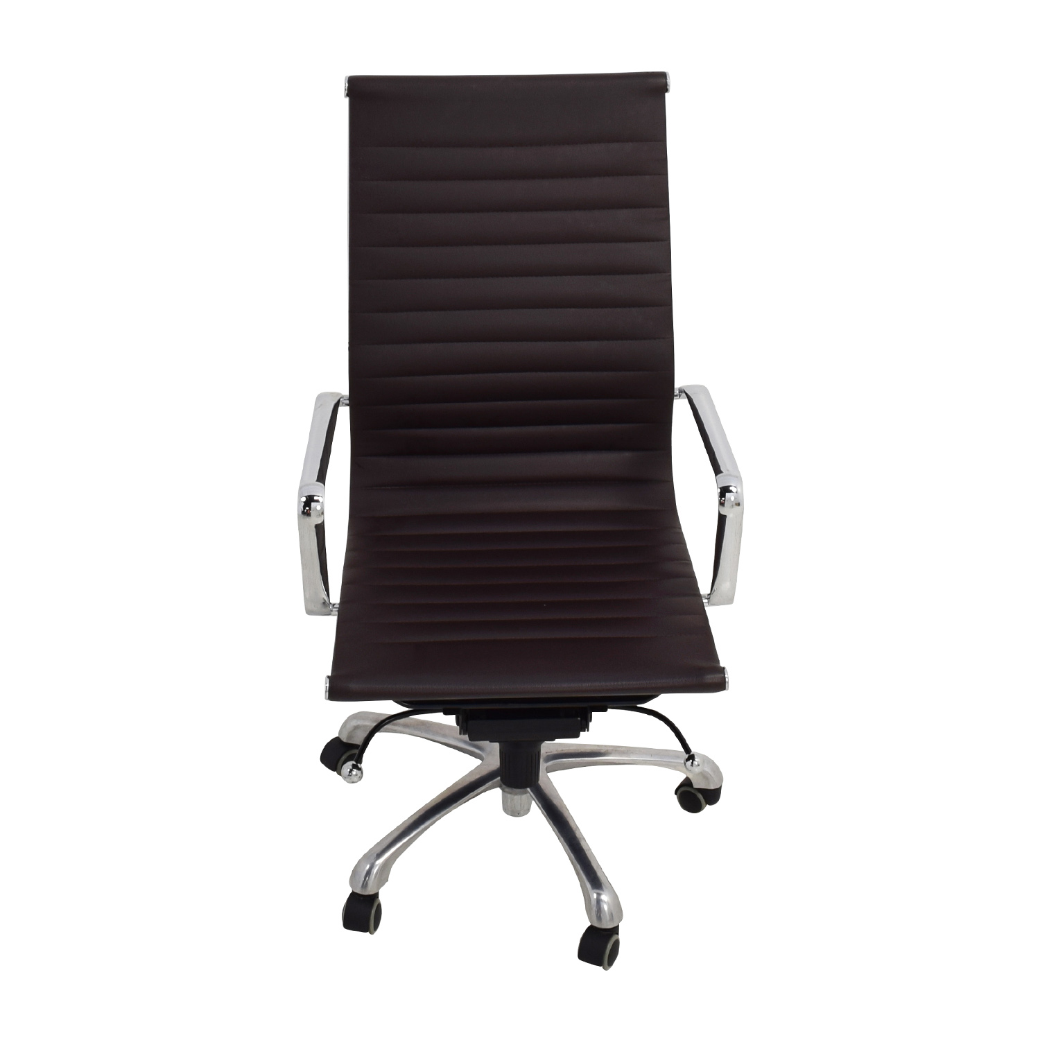 Eames Style Black Adjustable Office Chair