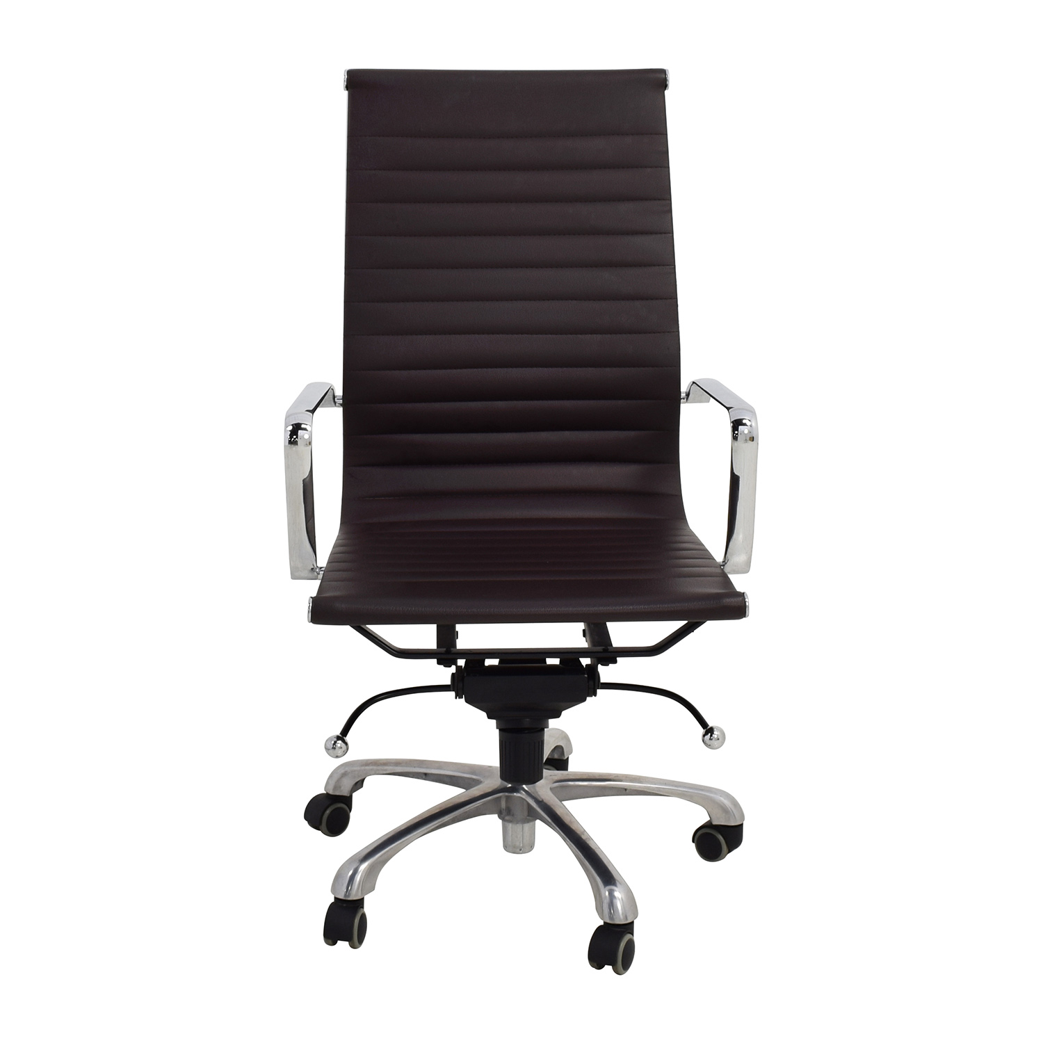 Eames Style Black Adjustable Office Chair sale