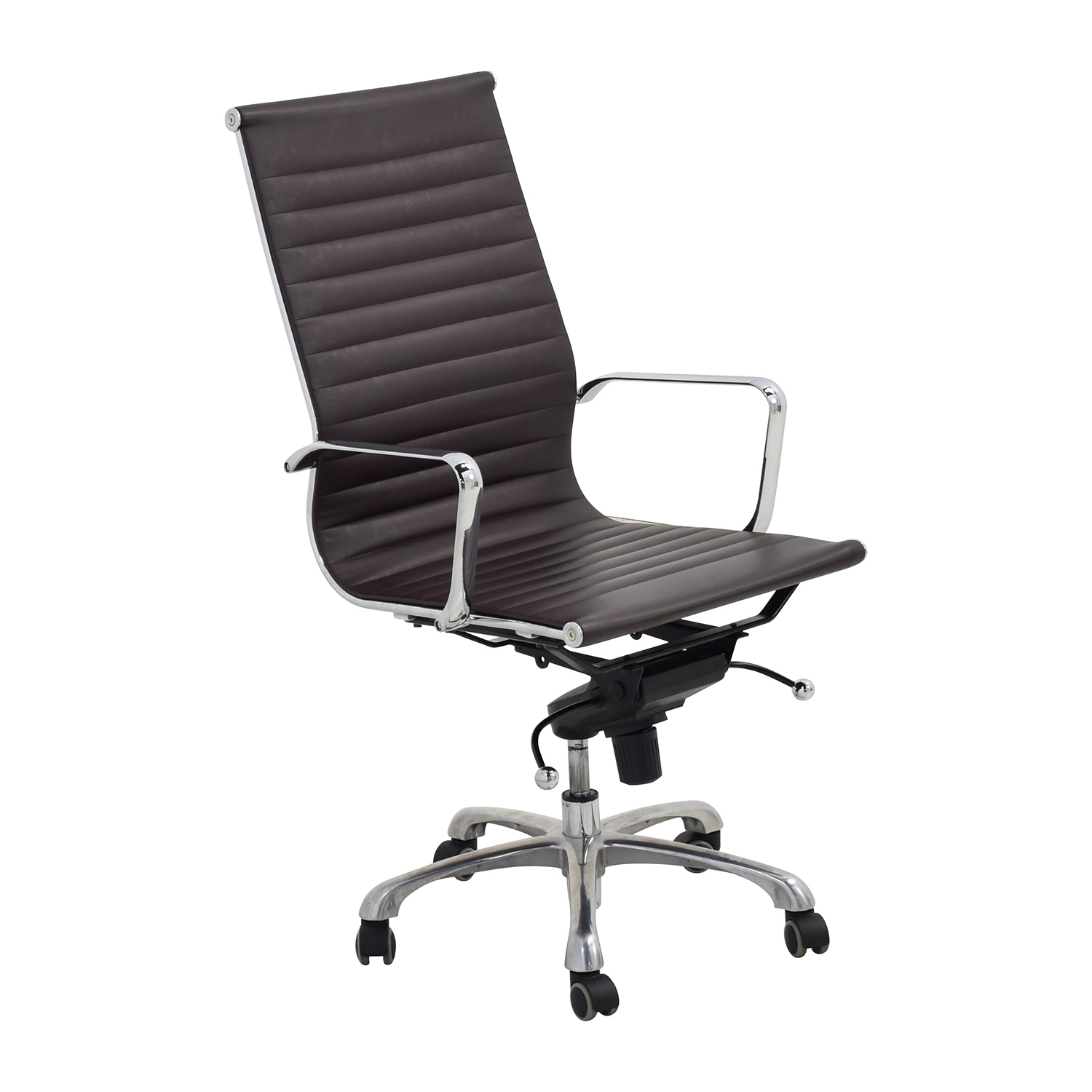 55% OFF Eames Style Black Adjustable fice Chair Chairs