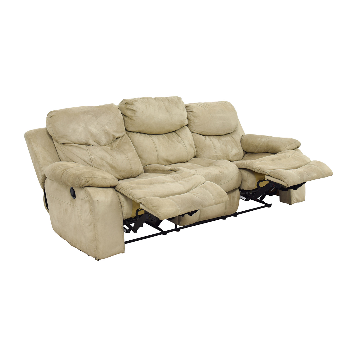 51% OFF Bob s Furniture Bob s Furniture Beige Dual