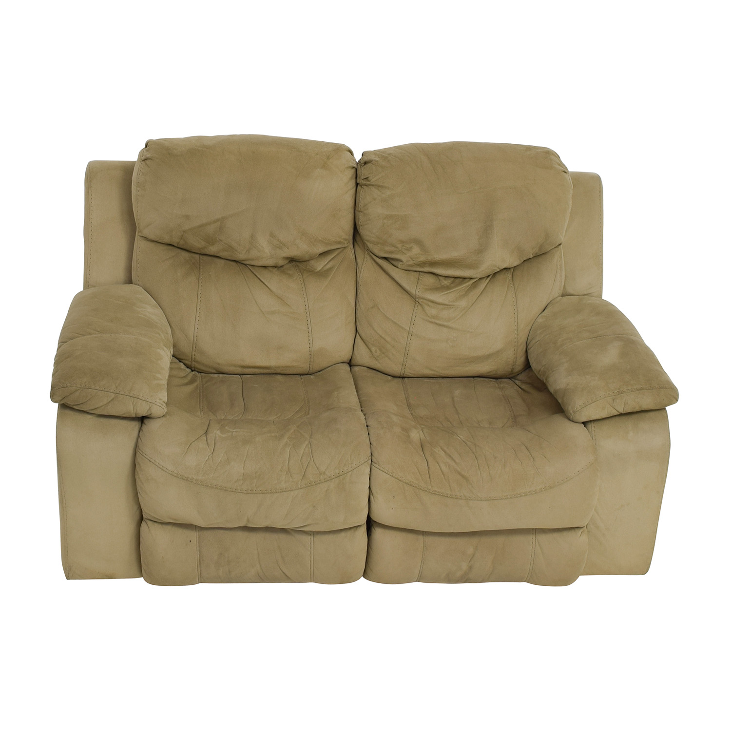 shop Bobu0027s Furniture Grey Dual Reclining Loveseat Bobu0027s Furniture Sofas  sc 1 st  Furnishare & 41% OFF - Acme Acme Black Leather Reclining Loveseat / Sofas islam-shia.org