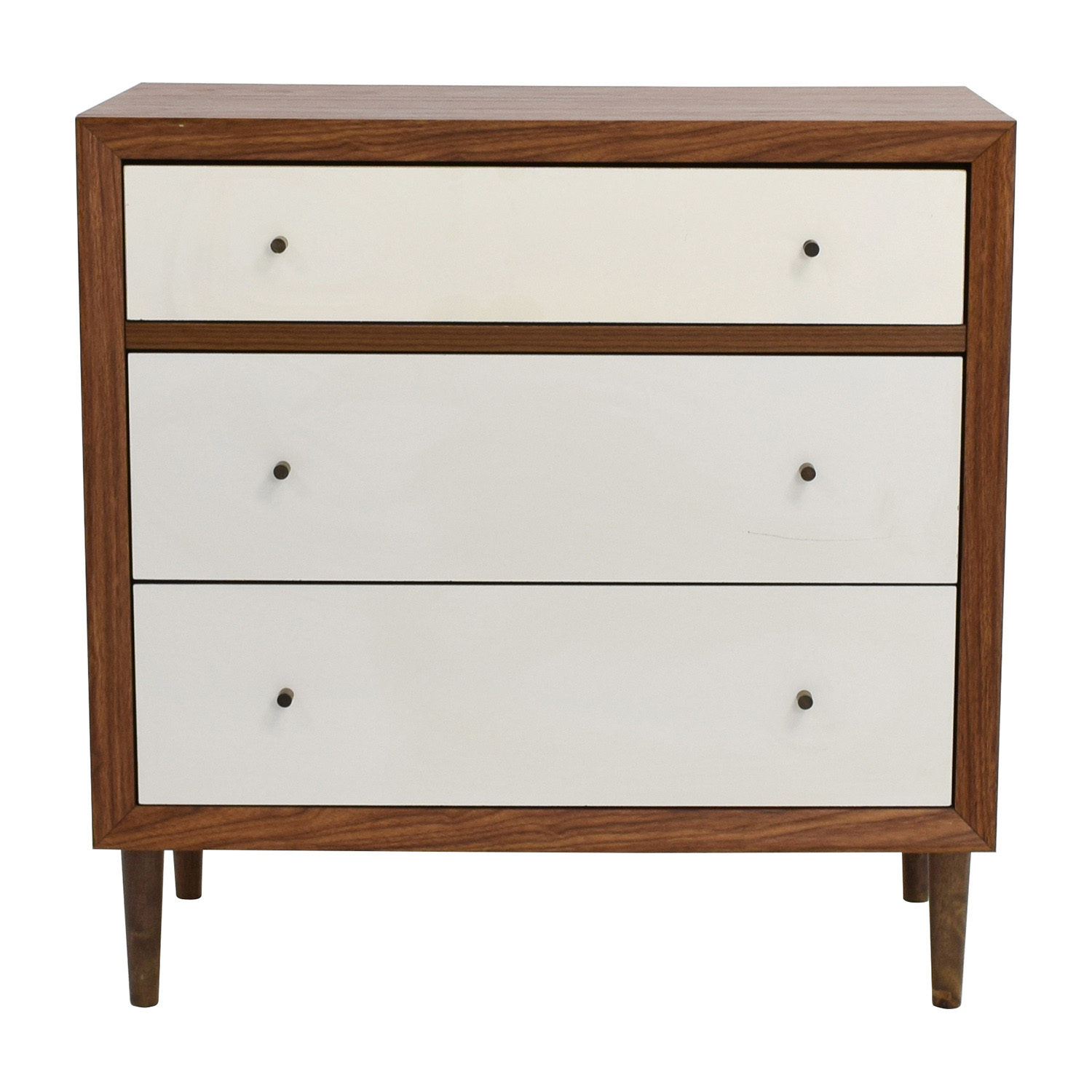 Wayfair Wayfair Three-Drawer Two-Toned Chest Dresser