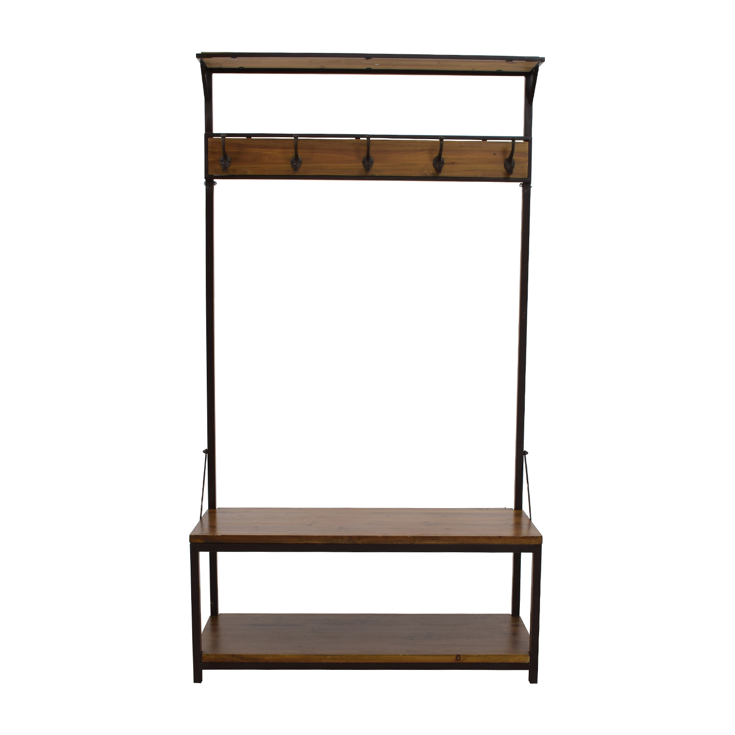 shop  Rustic Wood Foyer Wardrobe online