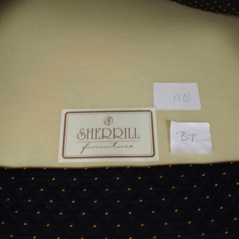 83% OFF Sherrill Furniture Sherrill Furniture Gold and Black