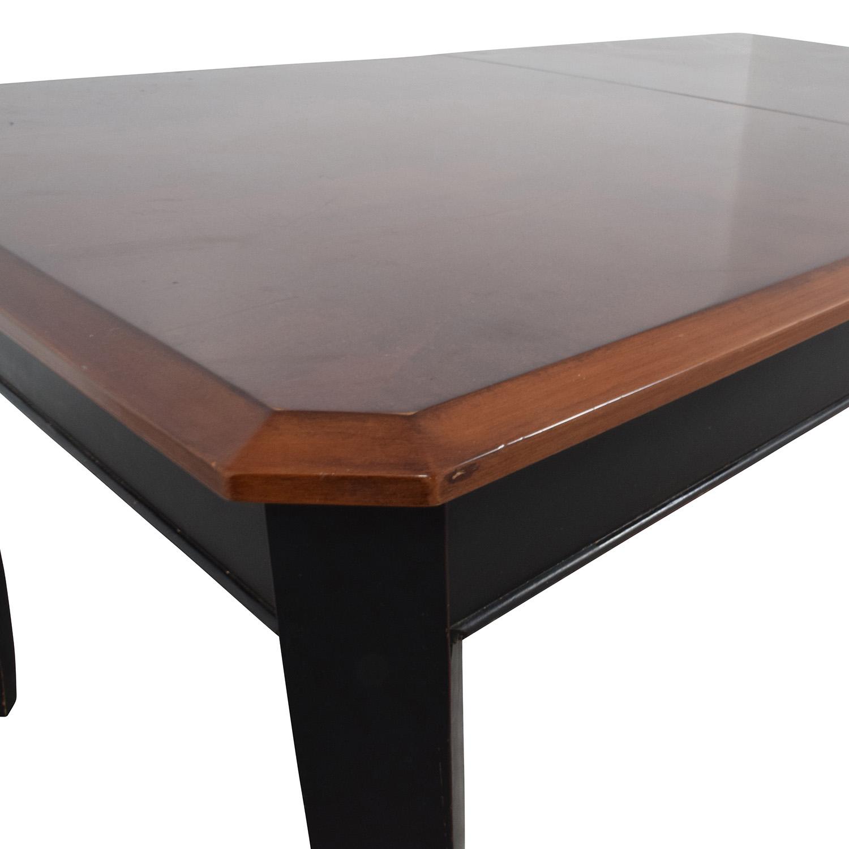 39 Off Huffman Koos Huffman Koos Extendable Wood Top Dining Table Tables