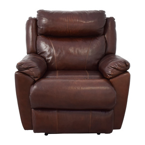 Macy's Brown Leather Power Recliner Macy's