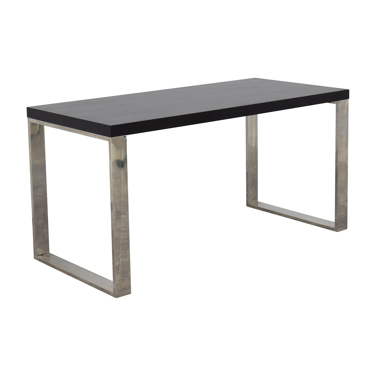 66 off macy 39 s macy 39 s stockholm oak and metal home office desk tables - Metal office desk ...