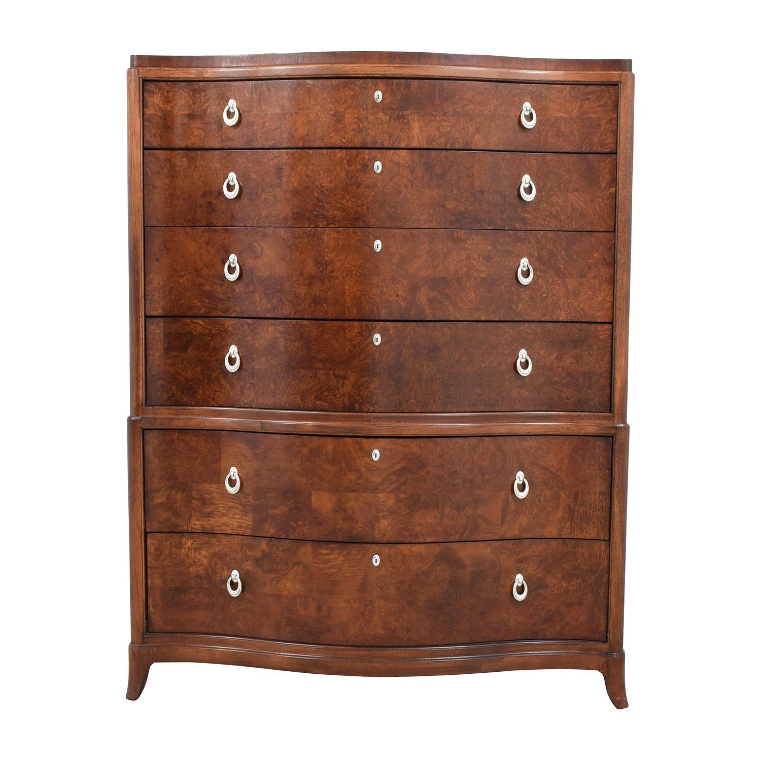 Thomasville Bogart Collection Six Drawer Tall Dresser Dimensions