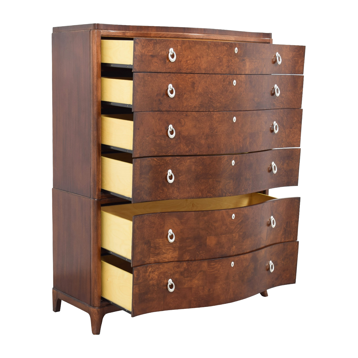 81 Off Thomasville Thomasville Bogart Collection Six Drawer Tall Dresser Storage