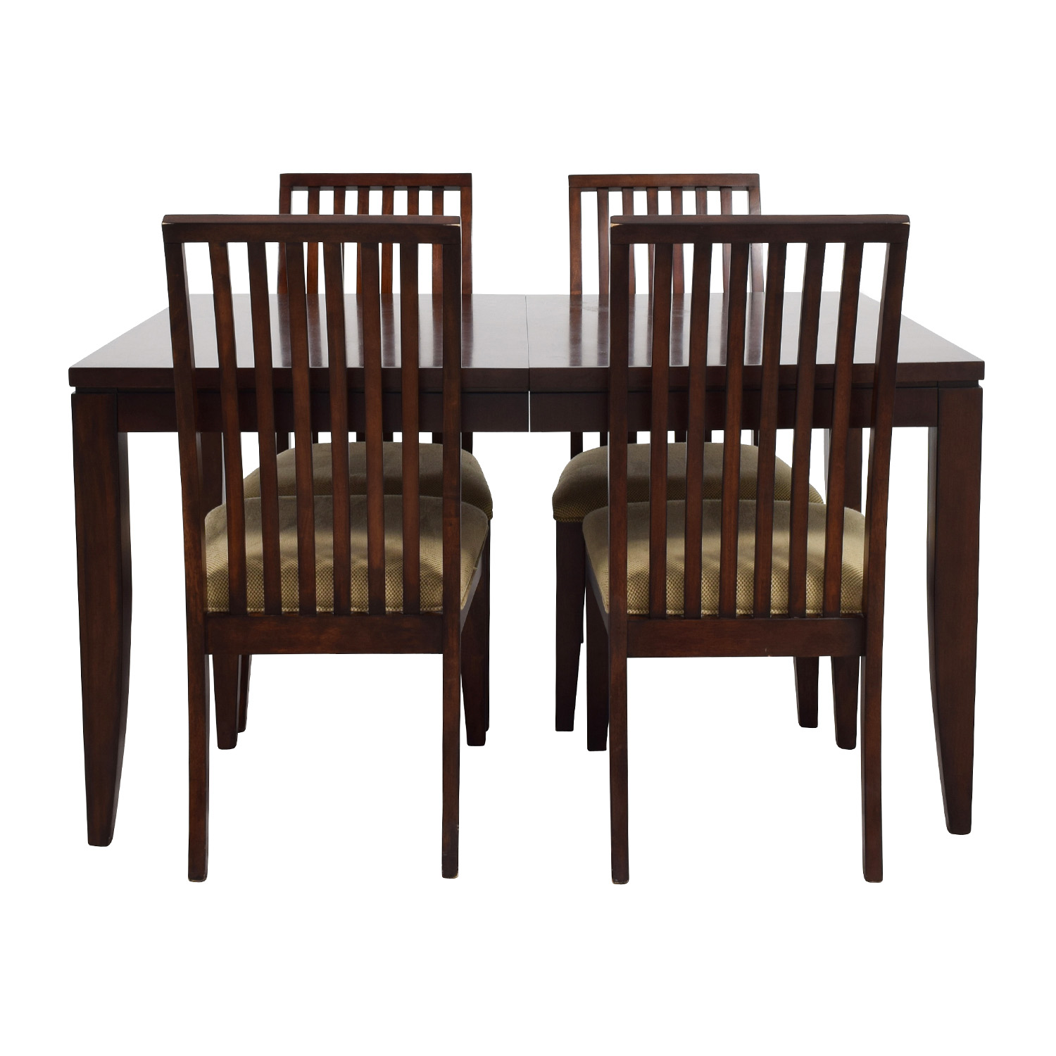 Macy's Metropolitan Wood Extendable Dining Set sale