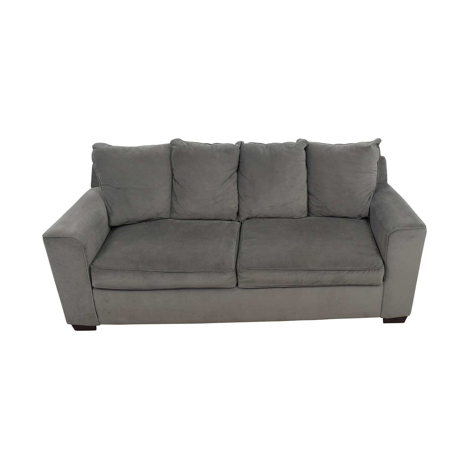 Jennifer Convertibles Jennifer Convertibles Grey Modern Couch Sofas