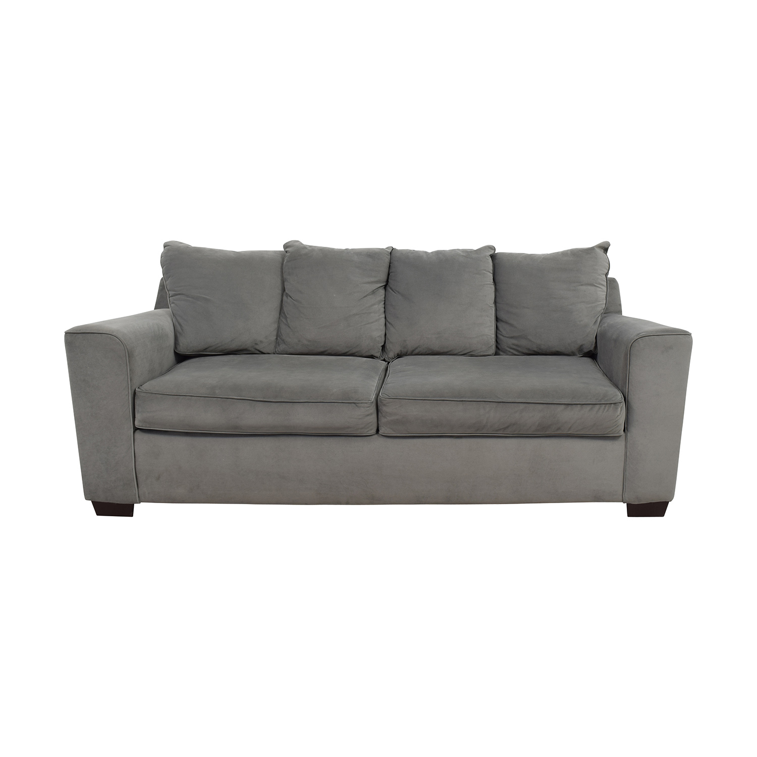 Jennifer Convertibles Jennifer Convertibles Grey Modern Couch coupon