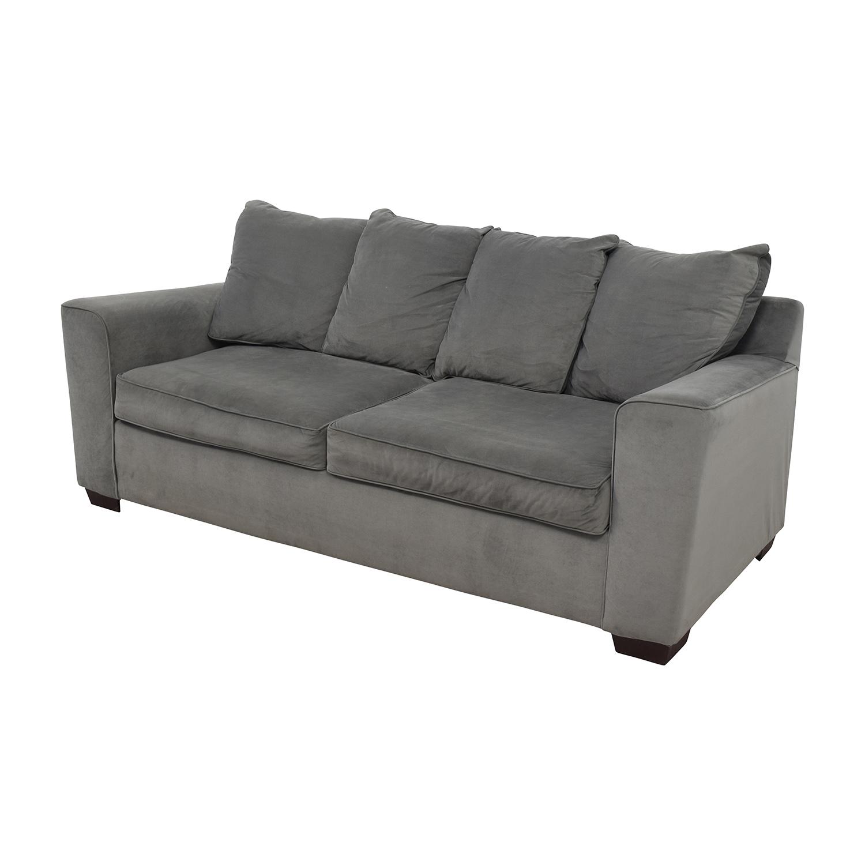 buy jennifer convertibles grey modern couch jennifer convertibles .  off  jennifer convertibles jennifer convertibles grey modern