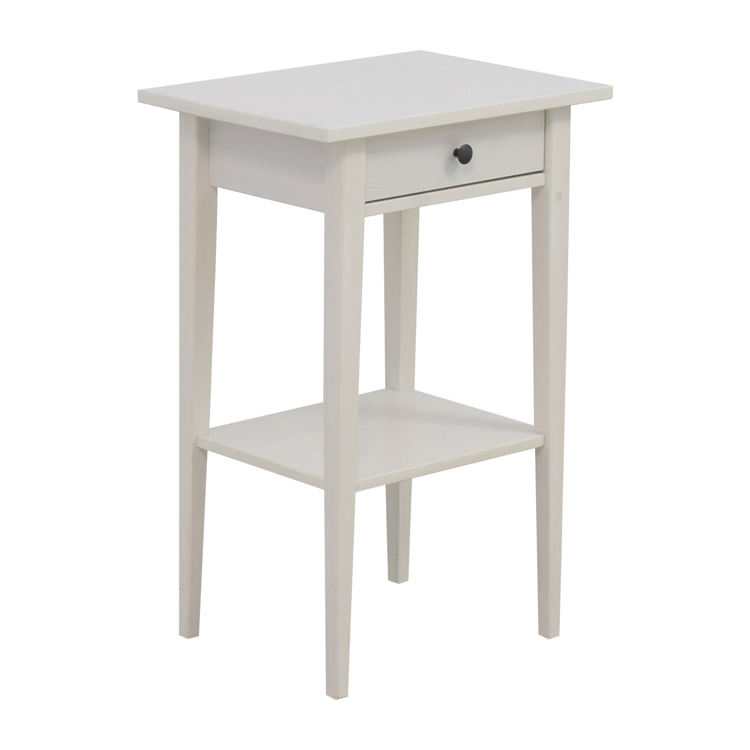 48 off ikea ikea hemnes white night table tables. Black Bedroom Furniture Sets. Home Design Ideas