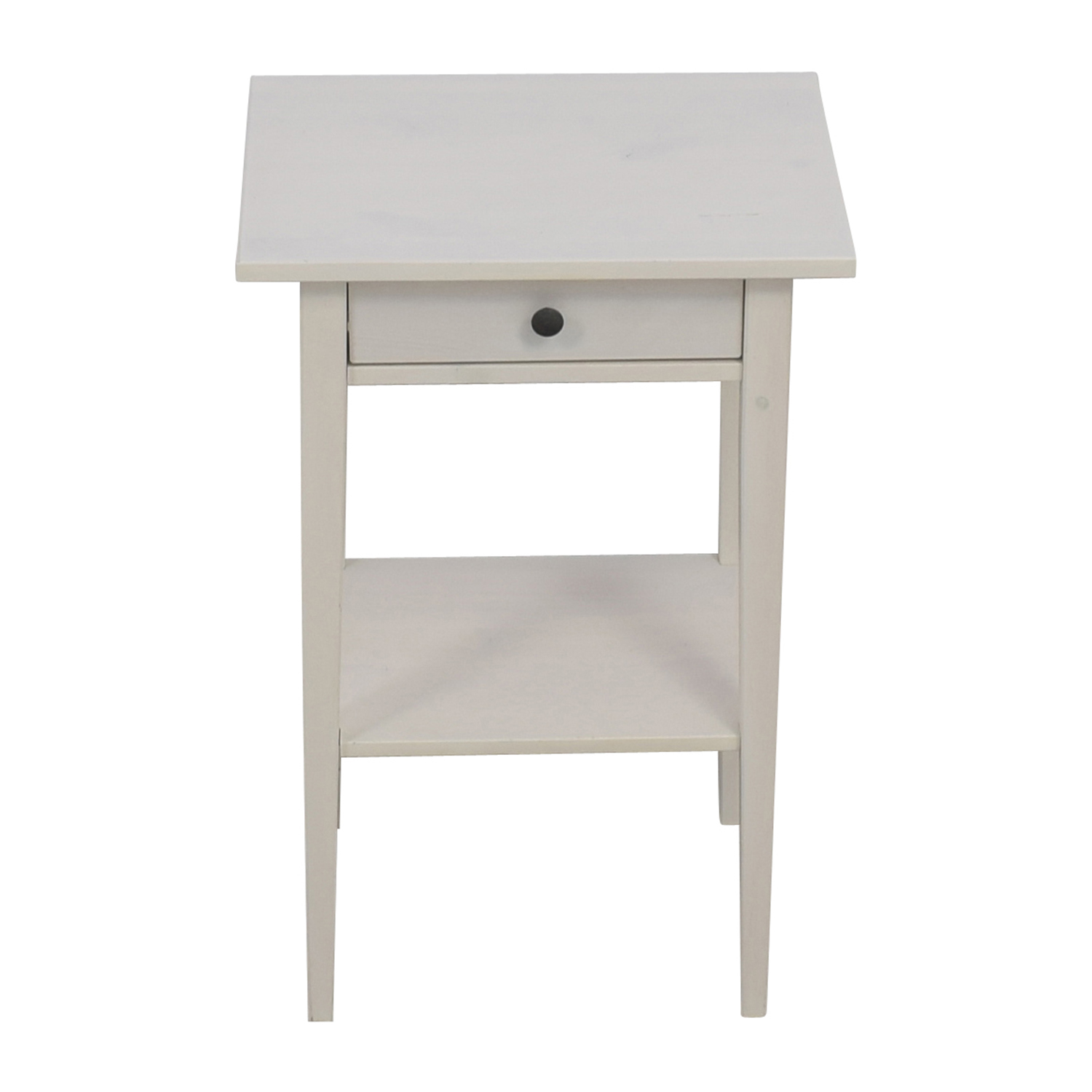 Ikea Hemnes White Night Table