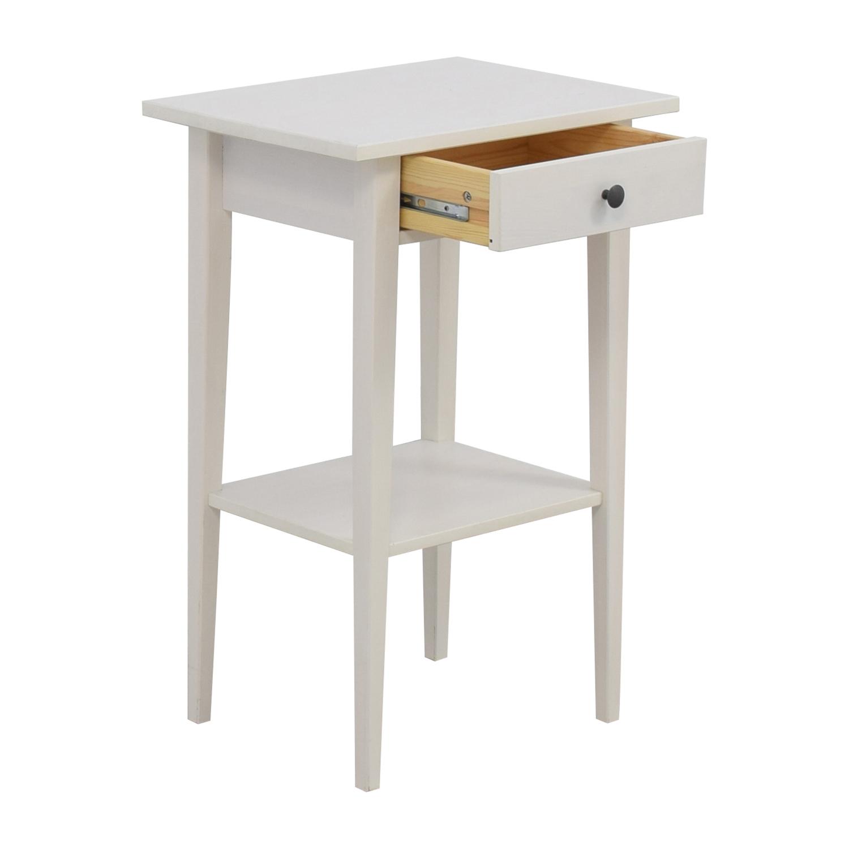 48 OFF IKEA IKEA Hemnes White Night Table Tables