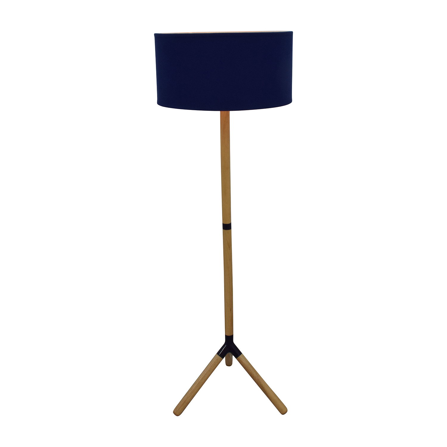 30 off happy chic by jonathan adler jonathan adler for Floor lamp with navy blue shade