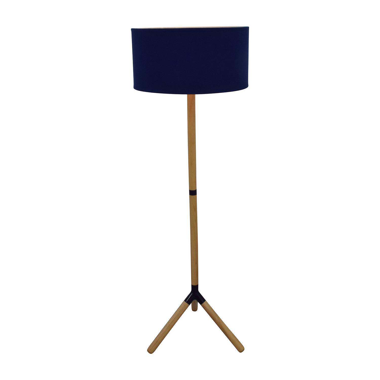Jonathan Adler Happy Chic Navy Floor Lamp / Decor