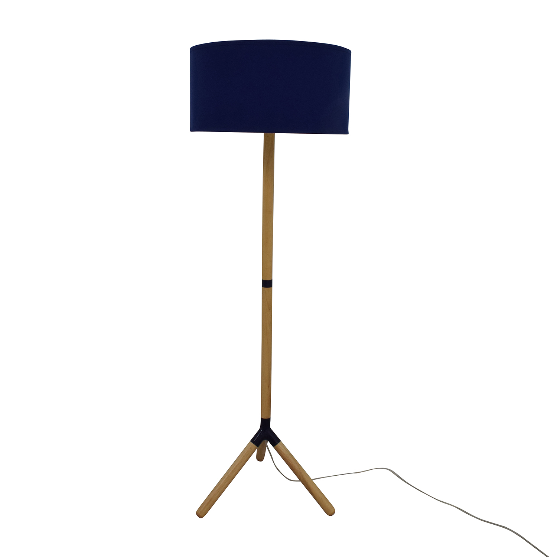 buy Jonathan Adler Happy Chic Navy Floor Lamp Happy Chic by Jonathan Adler