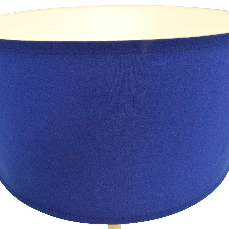 buy Happy Chic by Jonathan Adler Jonathan Adler Happy Chic Navy Floor Lamp online