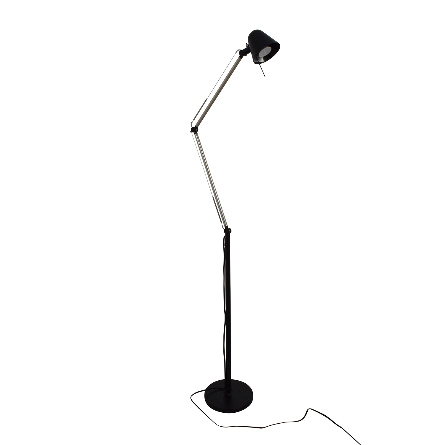 32 Off Ikea Ikea Uppbo Black And Chrome Task Floor Lamp Decor