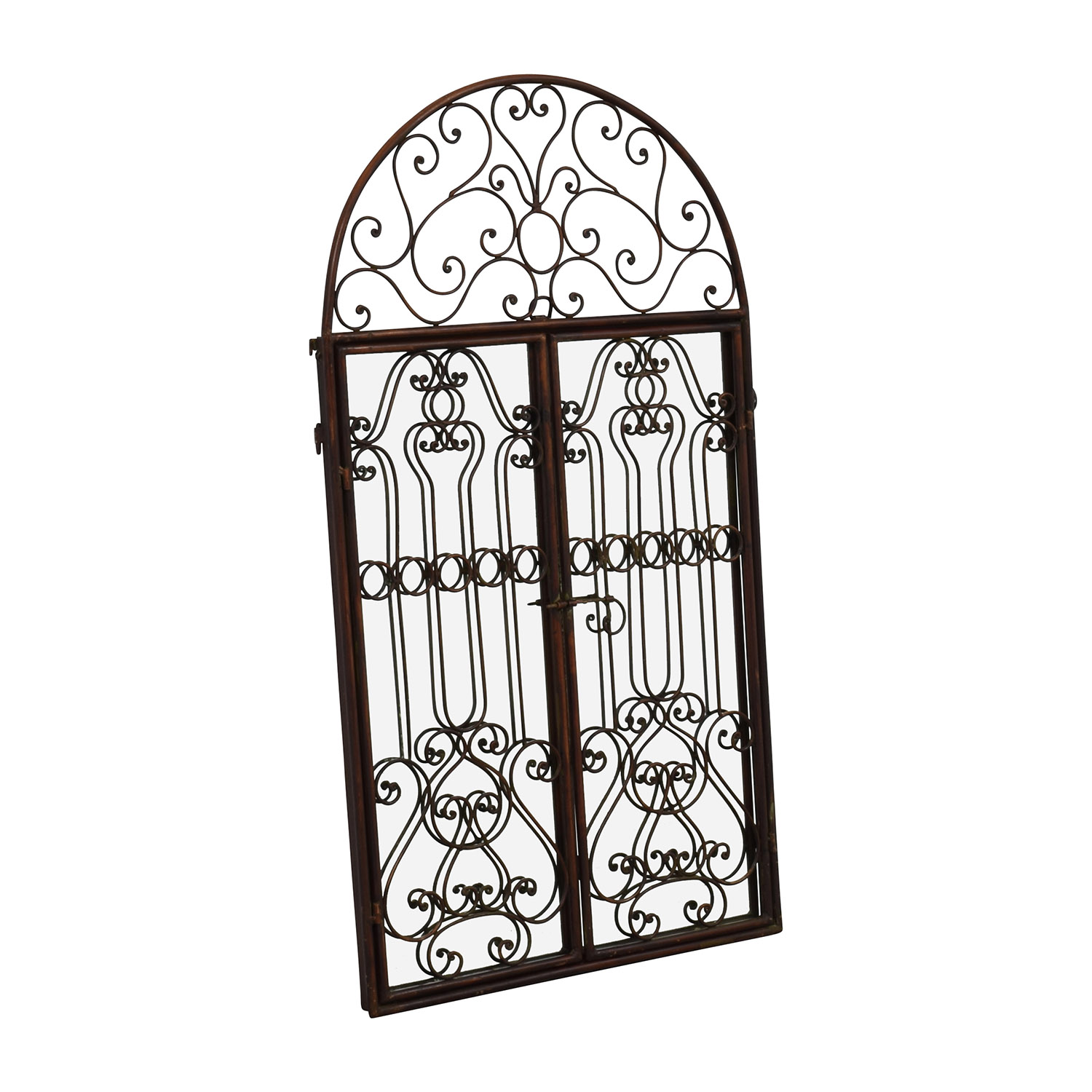 shop Artistic Mirror with Filigree Doors