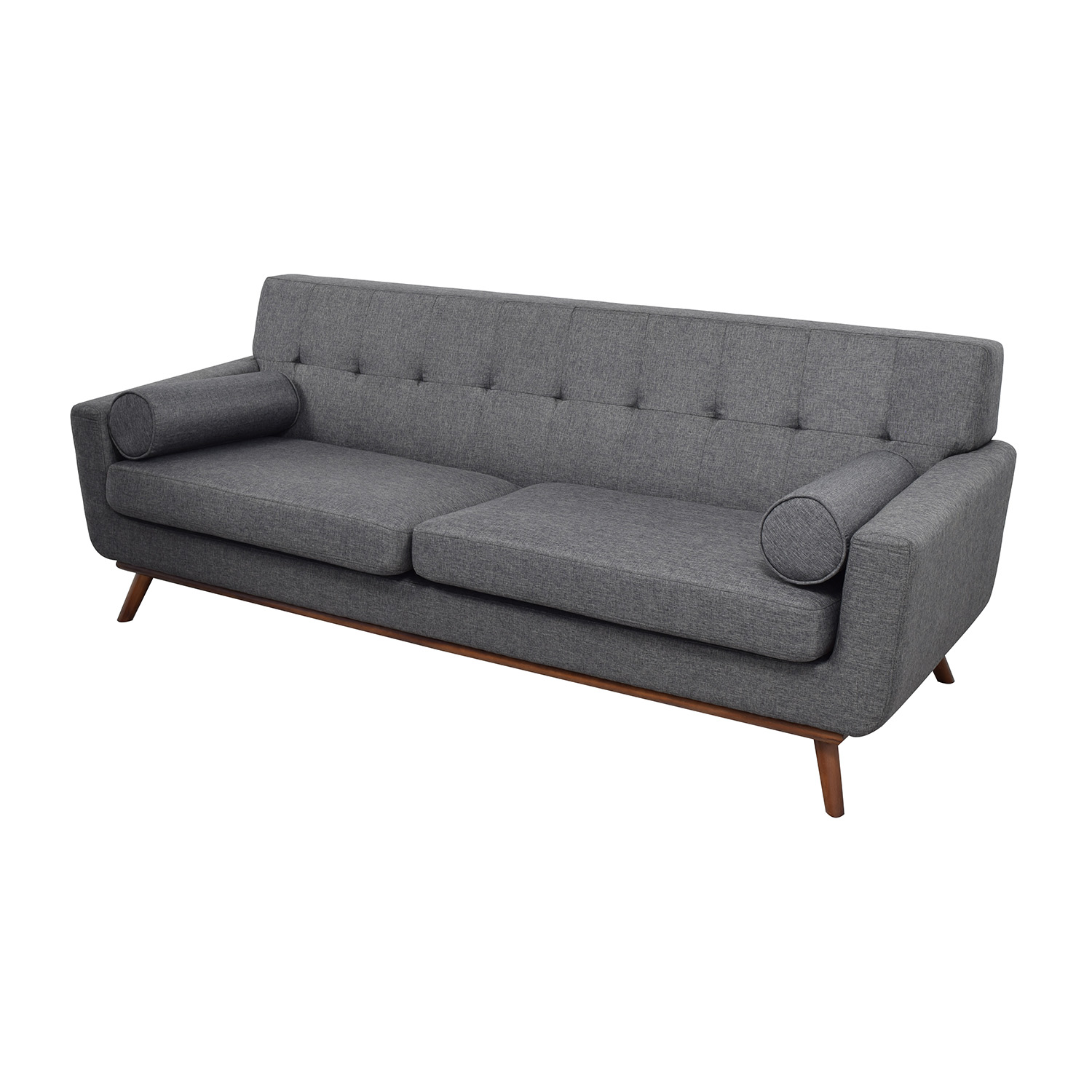 30 off inmod inmod charcoal grey tufted lars sofa with for In mod furniture