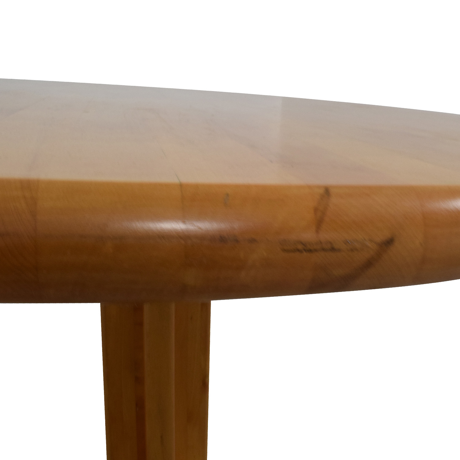 OFF Solid Wood Round Table Tables