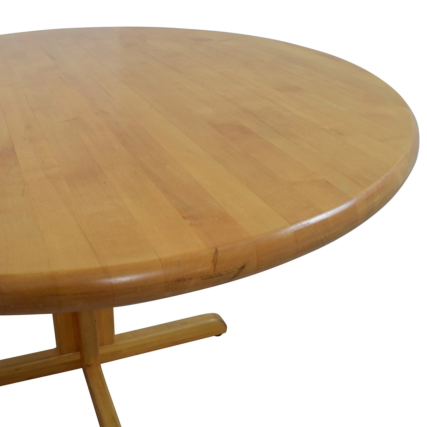 90 Off Solid Wood Round Table Tables