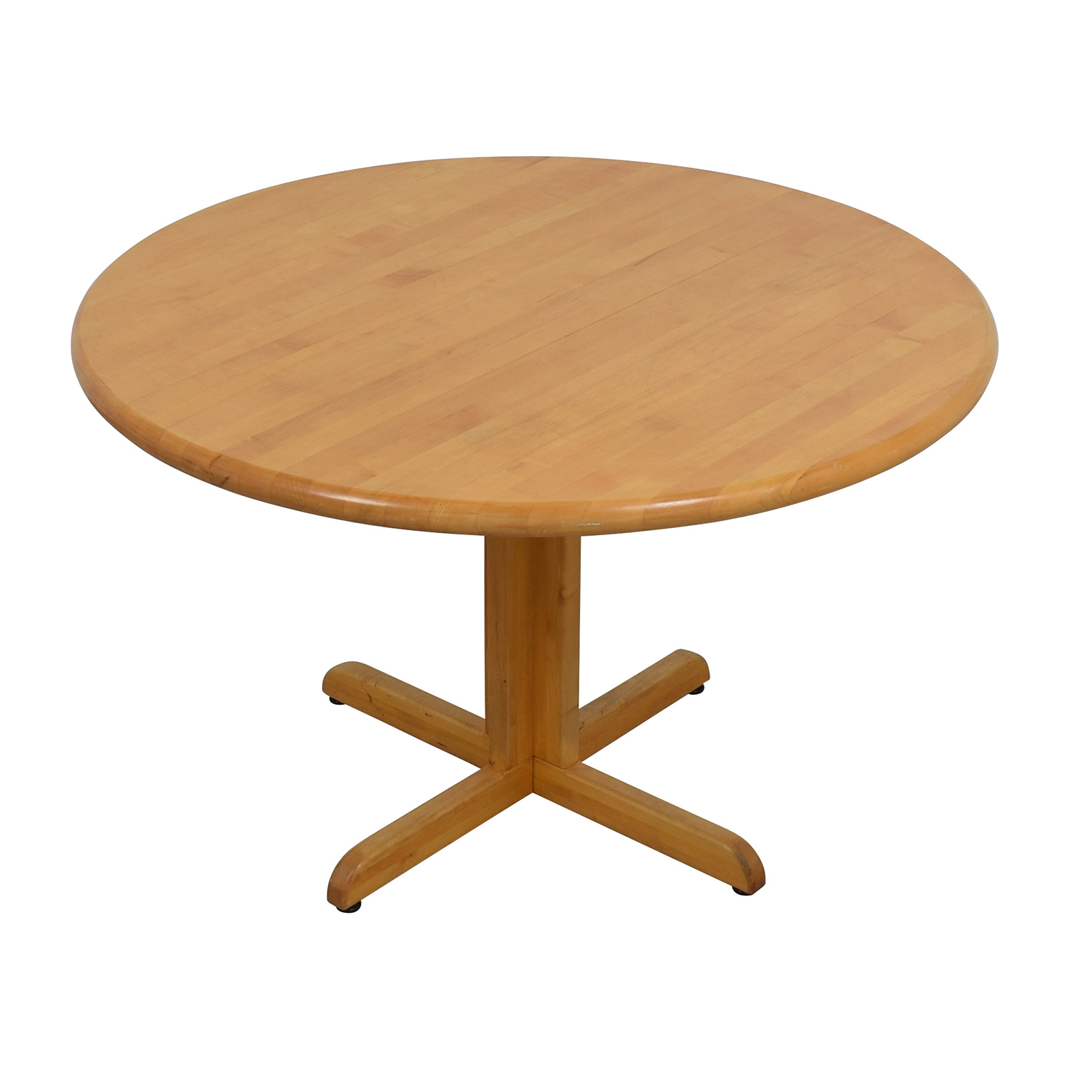 90 off solid wood round table tables for Circle table