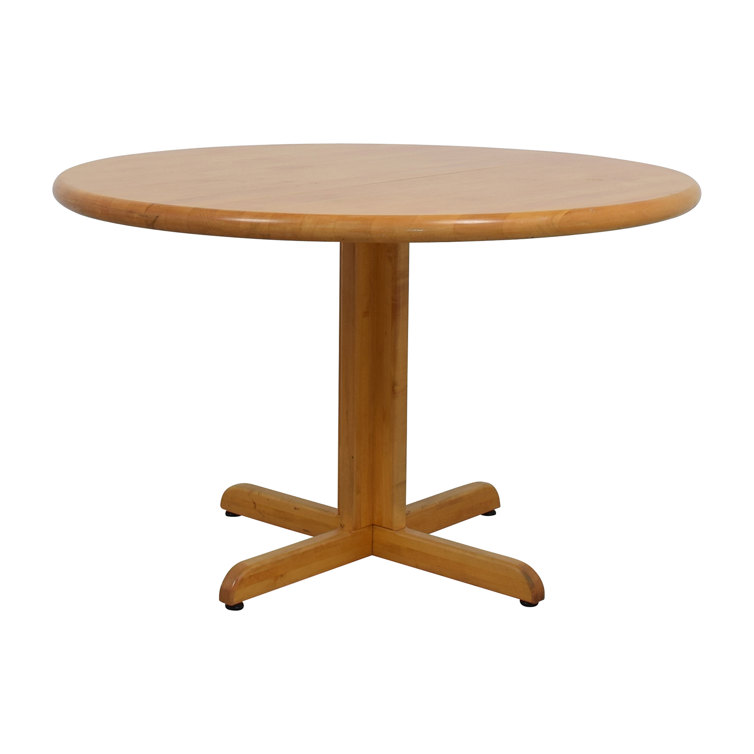 90 off solid wood round table tables for Solid wood round tables dining