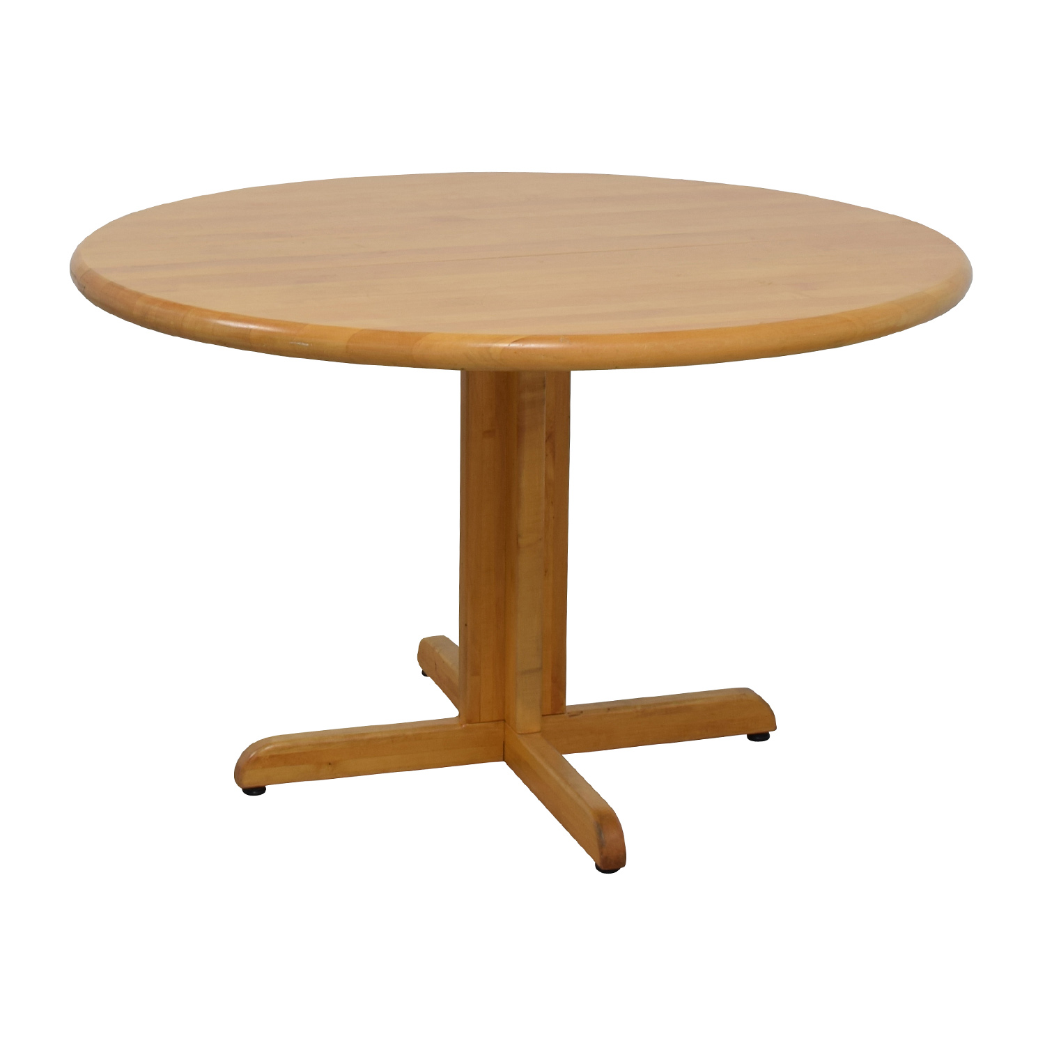 90 off solid wood round table tables for Buy round table