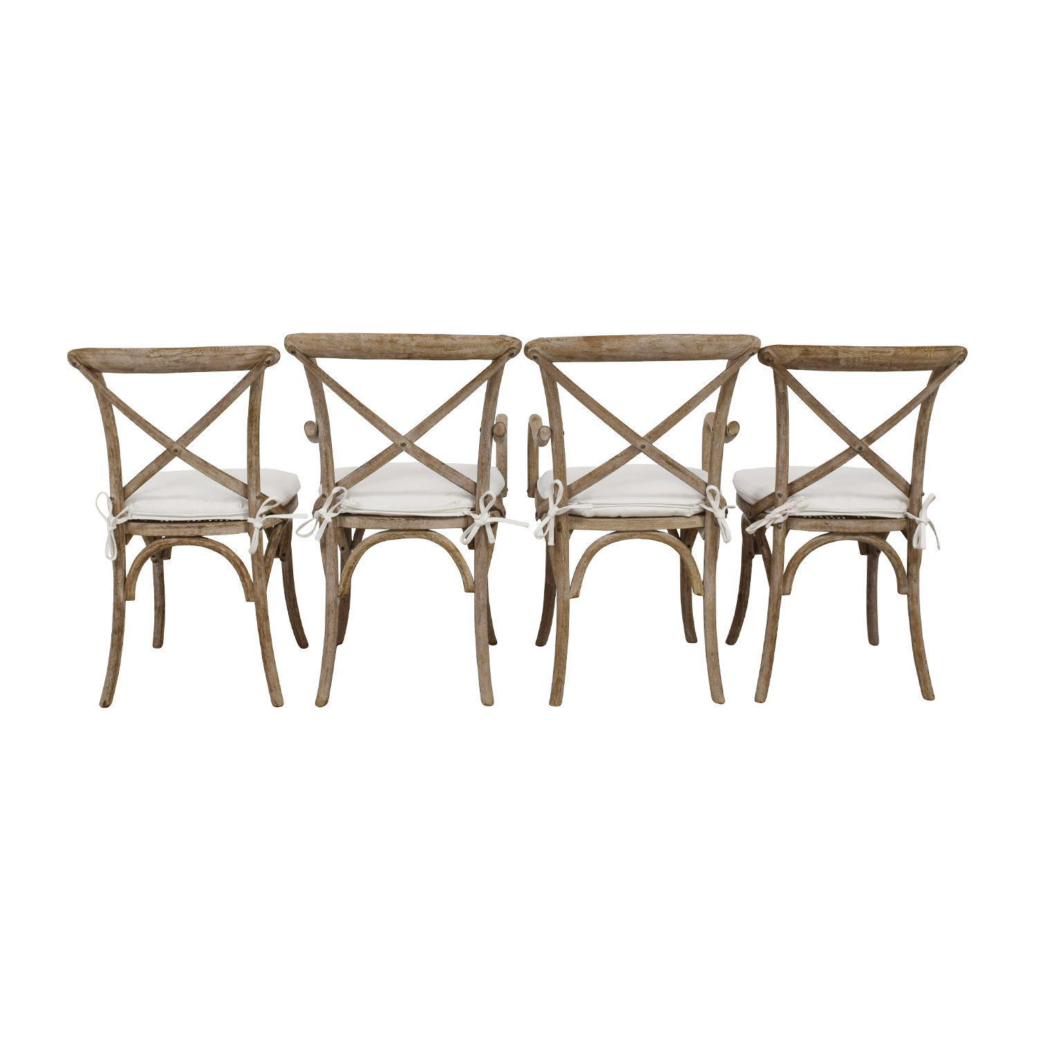 shop Restoration Hardware Madeleine Natural Wood Chairs Restoration Hardware
