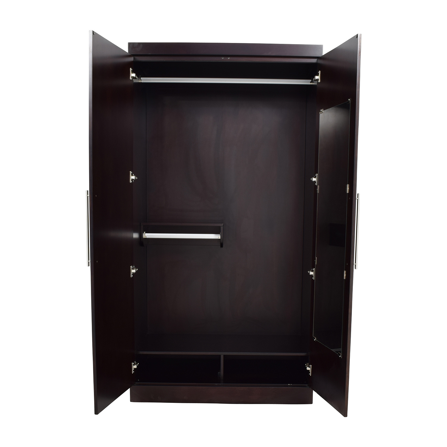 Raymour and Flanigan Raymour & Flanigan Wood Wardrobe price