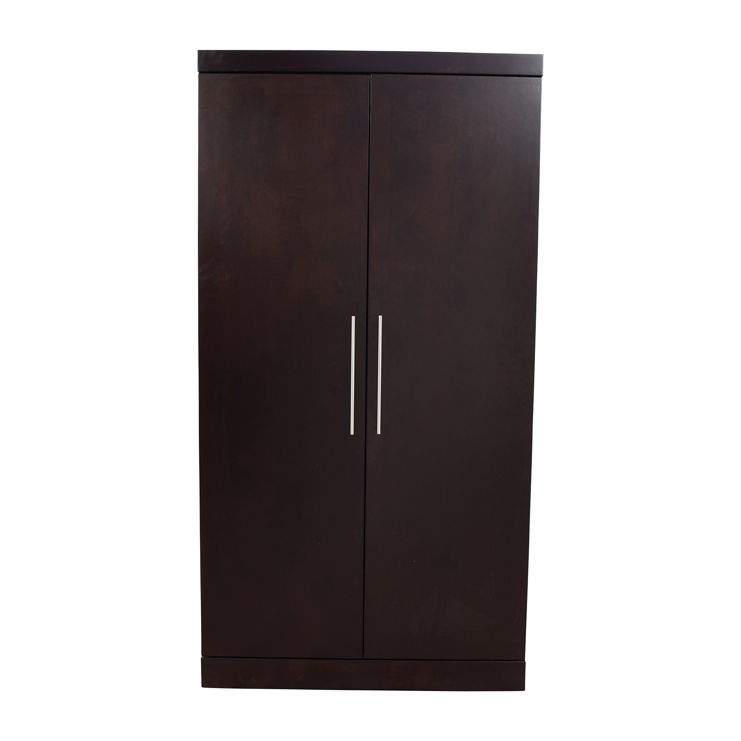 Raymour and Flanigan Raymour & Flanigan Wood Wardrobe nj