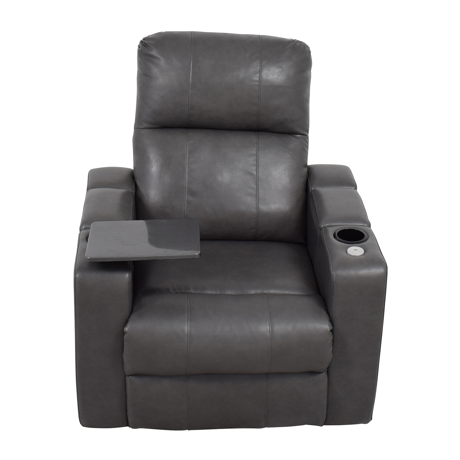 Leather recliner chair cheap leather creations leather for Cheap leather chairs