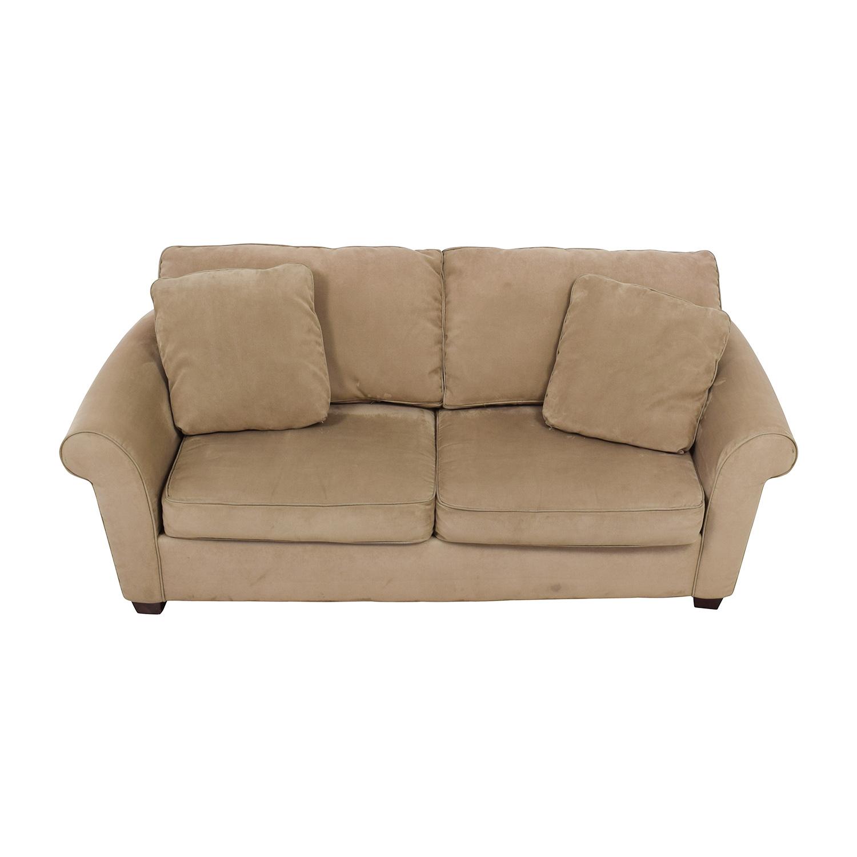 buy Bauhaus Microfiber Tan Oversized Couch Bauhaus Sofas