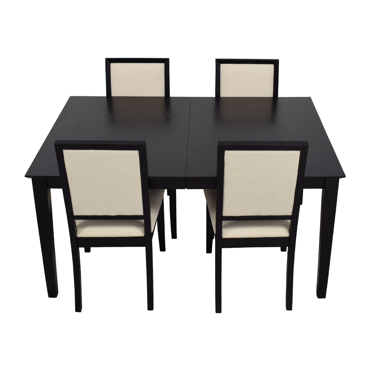 72 off harlem furniture harlem furniture black dining table with four chairs tables. Black Bedroom Furniture Sets. Home Design Ideas