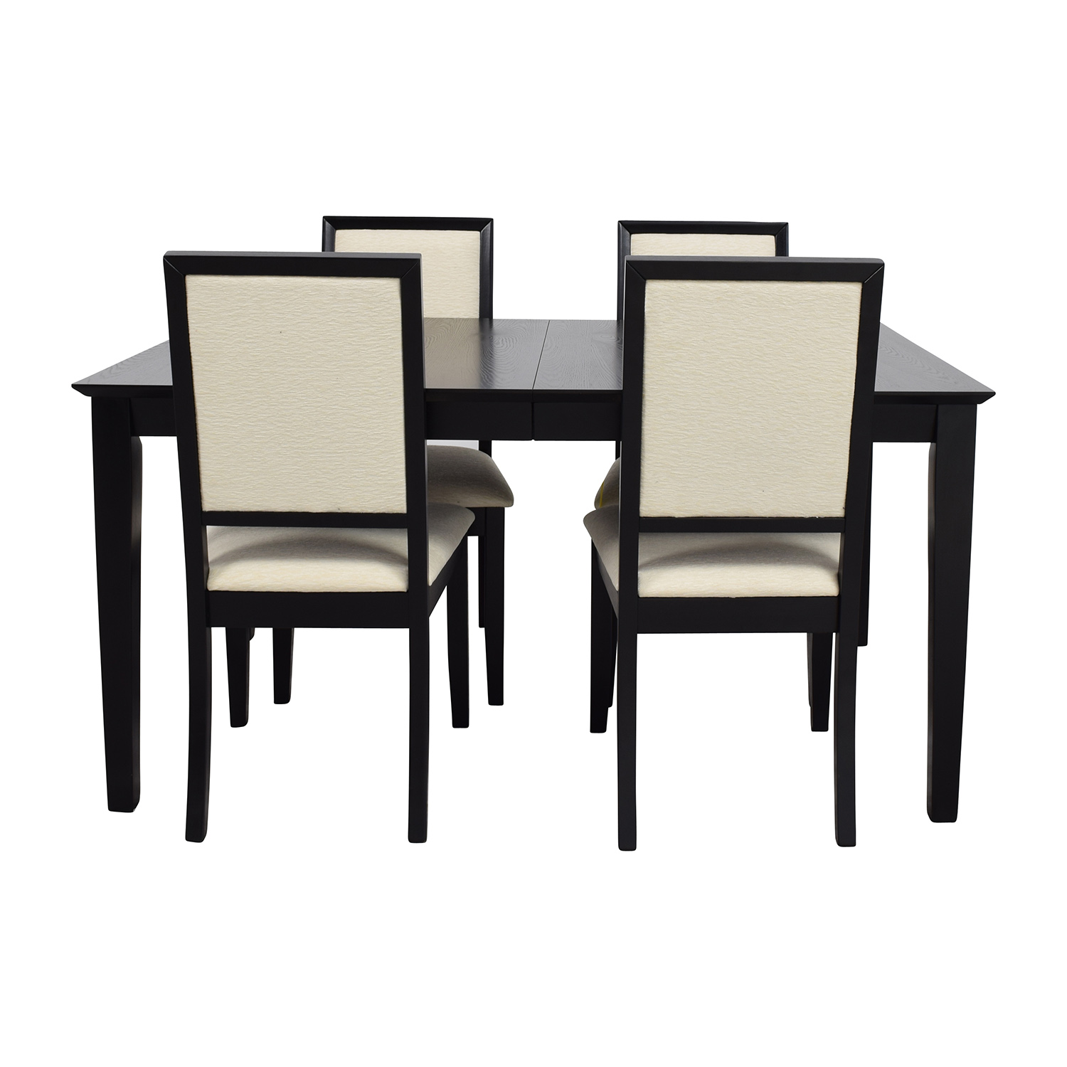Harlem Furniture Harlem Furniture Black Dining Table with Four Chairs nyc