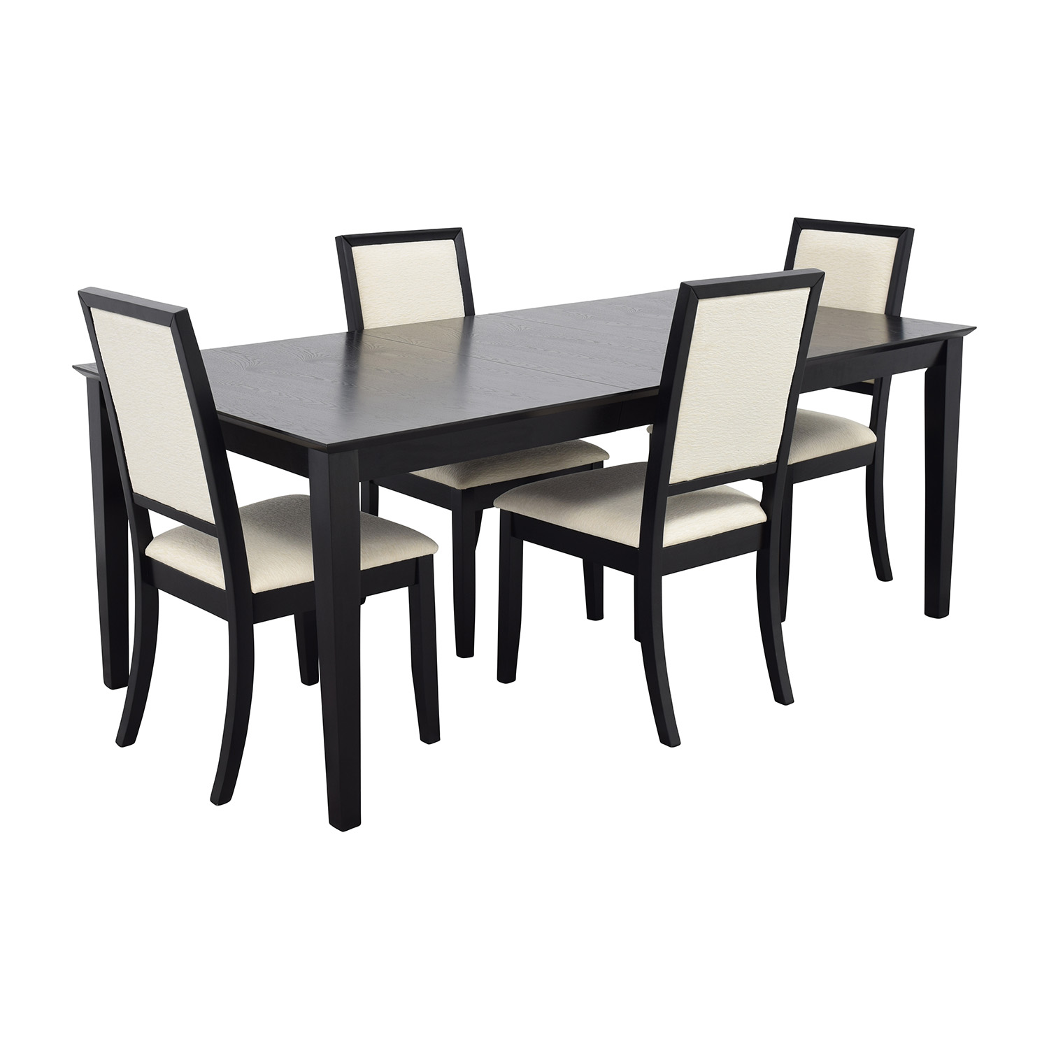 Dining Table Sets Black And White Dining Table 4 Chairs: Harlem Furniture Harlem Furniture Black Dining