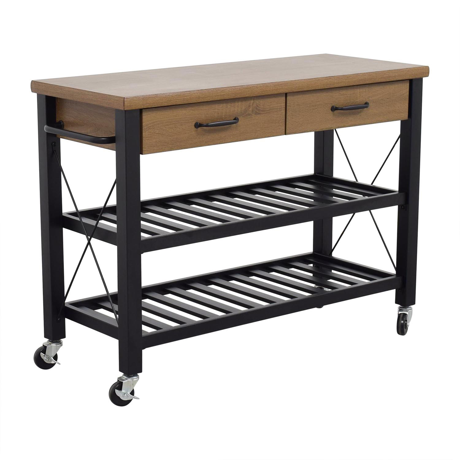 Walmart Kitchen Tables: Walmart Walmart Kitchen Island Cart On Casters