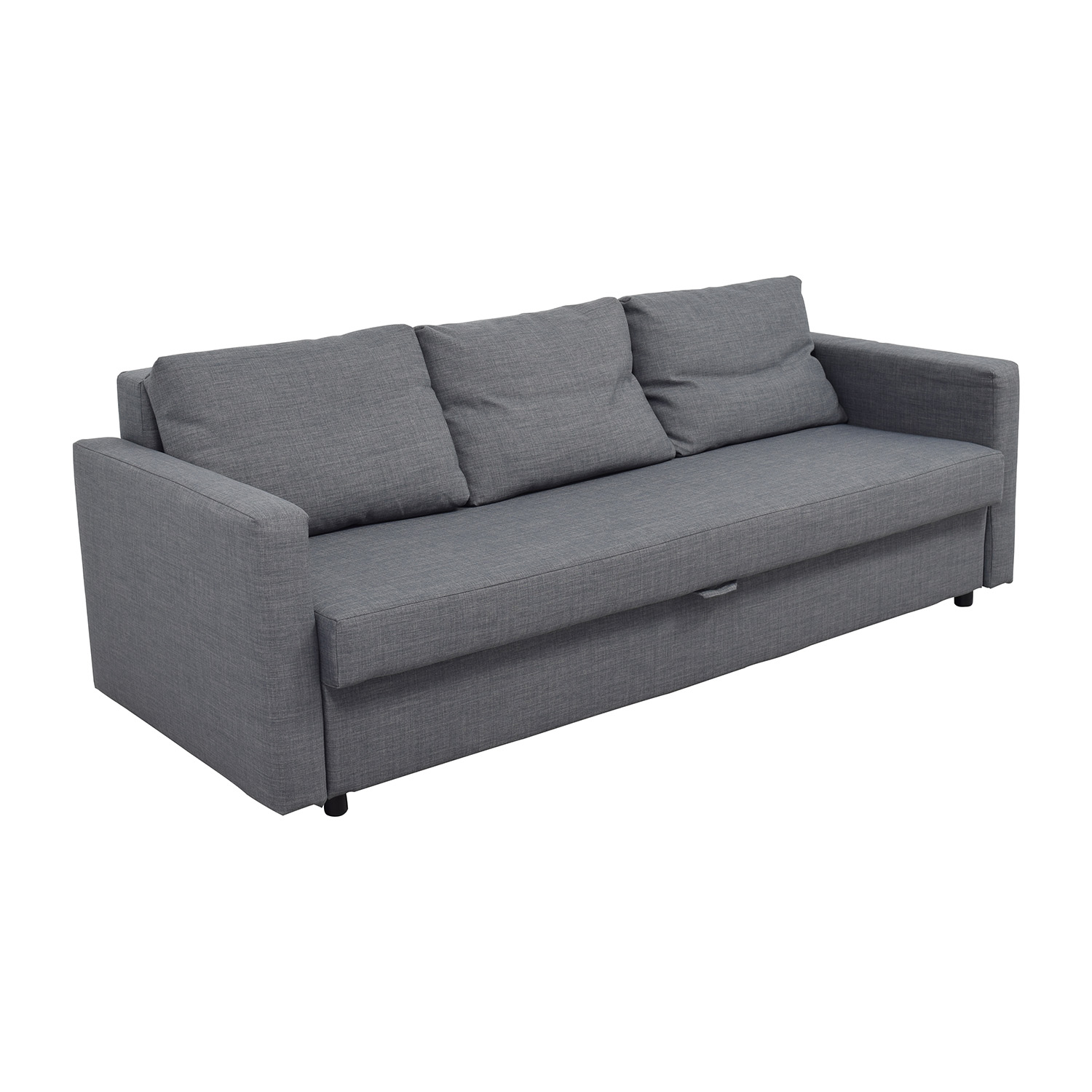 Ikea sofa grey klippan cover two seat sofa flackarp medium for Ikea gray sofa