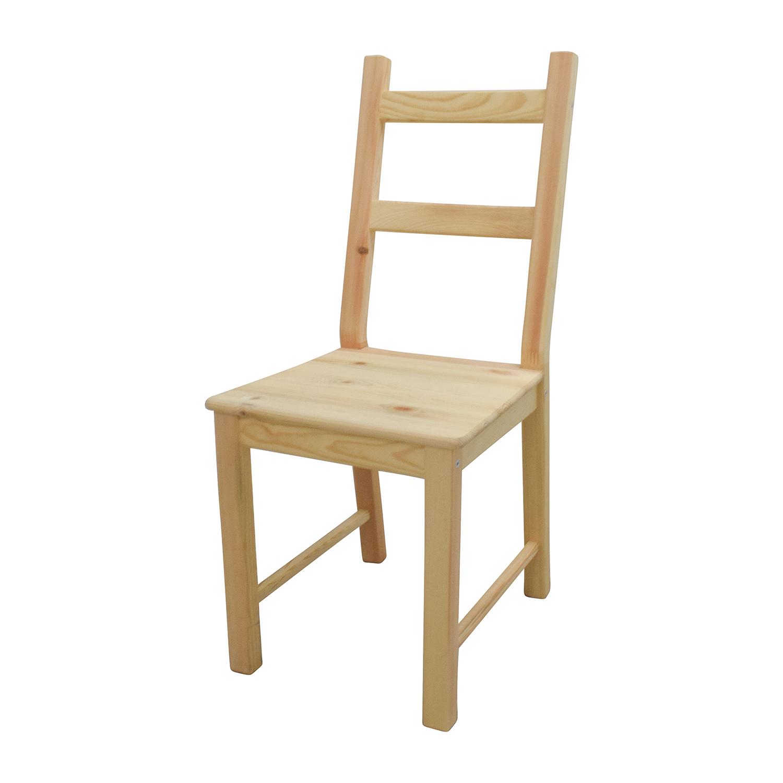 51 Off Ikea Ikea Ingo Pine Table With Ivar Pine Chairs