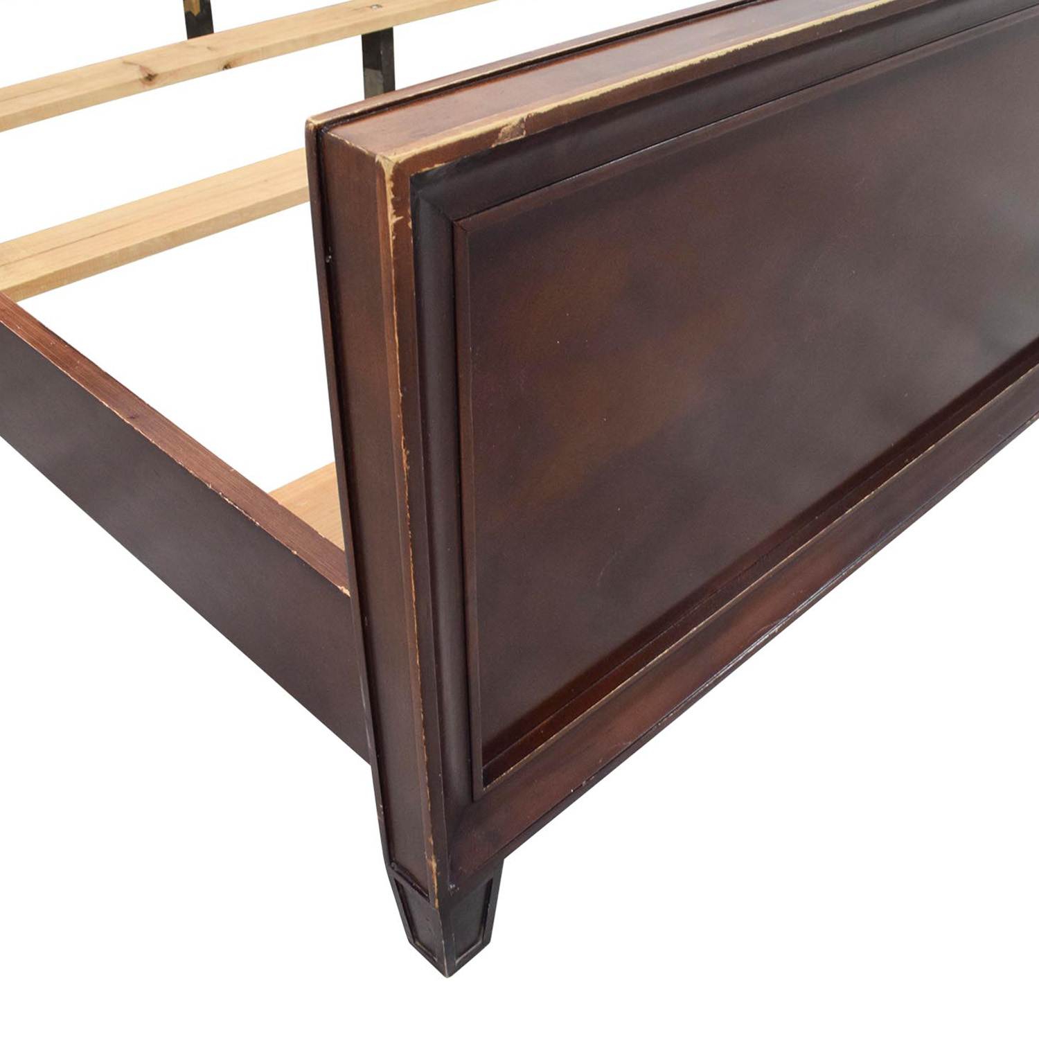 67 Off Bloomingdale 39 S Bloomingdale 39 S Mahogany King Size Bed Beds