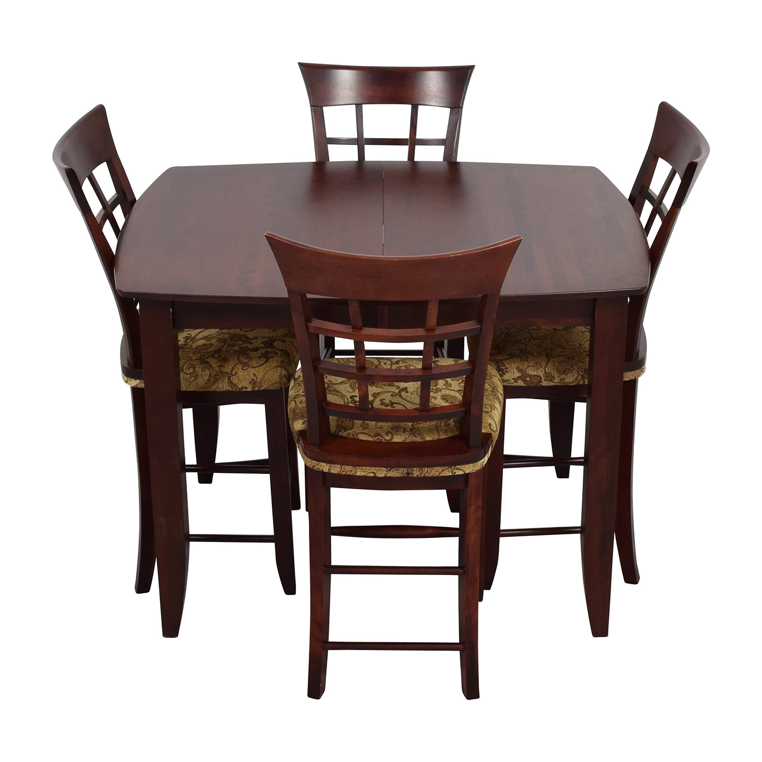 shop High Top Dining Table with Four Chairs  Dining Sets