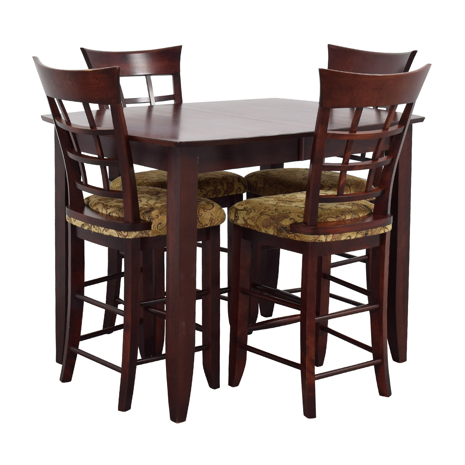 high top tables 48 high top dining table with four chairs tables 29152