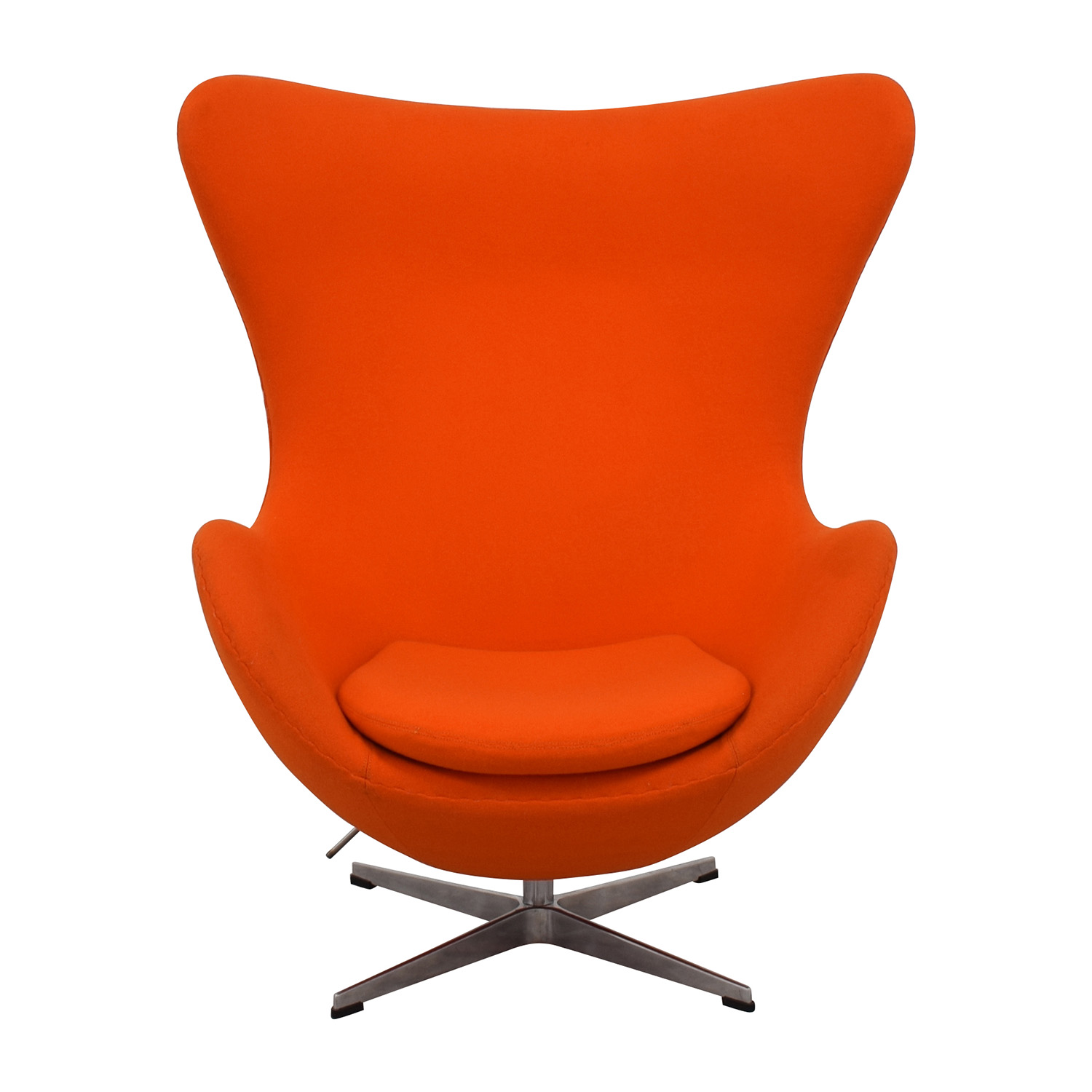 Inmod INMod Jacobsen Orange Egg Chair second hand ...  sc 1 st  Furnishare & 66% OFF - Inmod INMod Jacobsen Orange Egg Chair / Chairs
